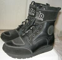 Polo Biker Boot II Gr 40 9 Motorradstiefel Leder Textil w. Neu Stiefel Boots Top