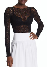 WOLFORD Lee String Bodysuit Black M NWT $350