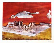 Max Ernst  Flying Geese  Rare Vintage Original 1960 1st Print Ltd Ed Lithograph