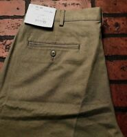 LANDS END Regular Fit Khaki Shorts Men's Size 36 NWT