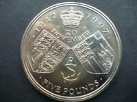 1997 £5 COIN (CROWN) IN GOOD CONDITION 1997 FIVE POUNDS COIN, COIN SHOWN SENT