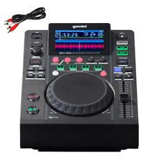 Gemini MDJ-500 USB MP3 Media Player MIDI DJ Software Controller 24-bit Soundcard