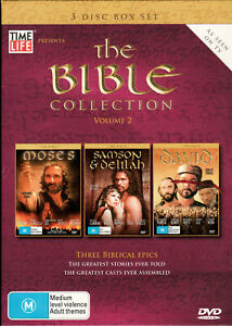 THE BIBLE COLLECTION - Volume 2 - DVD Region 4 (3 Disc Box Set)