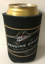 Miller Genuine Draft MGD Beer Can Bottle Cooler Koozie Coolie ~ ONE (1)  NEW F/S