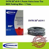 Schwalbe SV7A 28//37-438//451 Presta Folding Bike Bicycle Inner Tube Tire