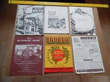 1944 BROWER Manual Catalog Poultry Chicken Feed EGG SCALE Supplies W/bonus items