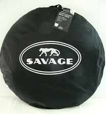 * Savage Infinity Collapsible Disc/Reversible Background (5 x 6', Black/White)