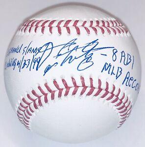 Fernando Tatis Sr. signed Cardinals autograph MLB Record auto baseball JSA USASM