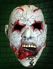 Tongue Out Terror Zombie Mask - Halloween Costume - Halloween Decoration