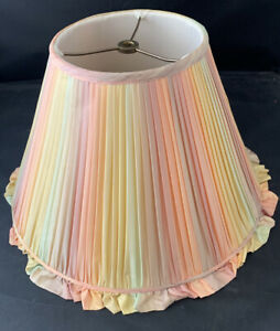 Set of 2 New Multi Colored Lampshades