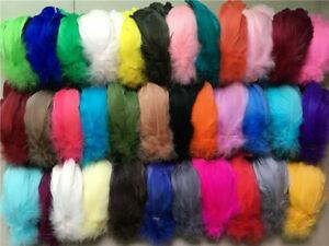 100PCS 6-12cm Feathers Plume Craft Hat Decorations Party Balloon ~ 28 Colours ~