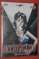 DVD MANGA TV ANIME ANNI 80,OCCHI DI GATTO CAT'S EYE 1 SERIE 2  city hunter,lupin