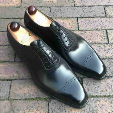 Vass V-Cap Italian Oxford - Black Calf