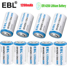 Lot Lithium 1200mAh 3.6V ER14250 TL-2150 1/2AA EXP 2029 High Capacity Battery