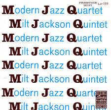 Modern Jazz Quartet / Milt Jackson Quintet - MJQ ( CD - Album - Remastered )
