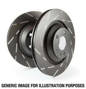 EBC USR Slotted Rear Rotors for 06-09 Mazda 6 2.3 Turbo (Mazdaspeed)