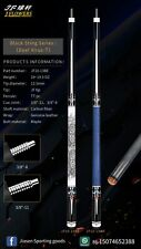 2020 JFlowers custom pool cue, carbon shaft ,Radial &  3/8-11 available