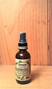 DREAM Relaxing Mist Sleep Aid Spray-Organic Vegan-Lavender,Lemon,Dill,Vetiver