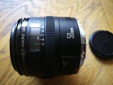 Canon Macro Ef 50mm F/2.5 Lentille pour canon fd mount - Beautifull condition!