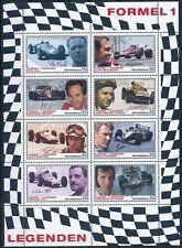austria ca 2007 autriche formule 1 car wagen Hakkinen Hill Fangio ms8v mnh **