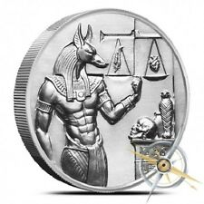 "Anubis 2 oz Ultra High Relief Silver Series .999 - ""Heidi Wastweet Hand Signed"""