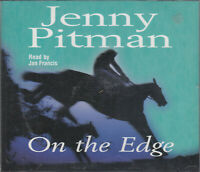 On the Edge Jenny Pitman 3CD Audio Book Abridged Horse Racing Thriller FASTPOST