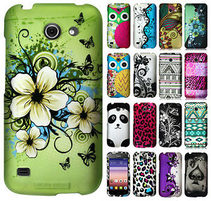 For AT&T GoPhone Huawei Tribute Y536 Rubberized Hard Protector Case Phone Cover