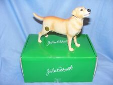 John Beswick Labrador Dog Figurine - Yellow Approx 13cm High