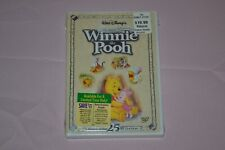 Disney Many Adventures of Winnie the Pooh DVD 2002, 25th Anniversary Edition NEW