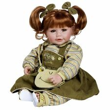 "Adora Toddler Froggy Fun Girl 20"" Girl Weighted Doll Gift Set for Children 6+"