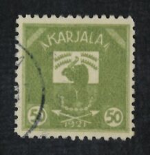 CKStamps: Karelia Stamps Collection Scott#6 Used