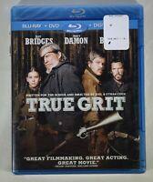 BRAND NEW True Grit (Blu-ray/DVD, 2011, 2-Disc Set, Includes Digital Copy)