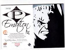 "2014 UD Marvel Premier Emotion Sketch Booklet Cable E-6 ""Angry"" 24/50 X-Men"