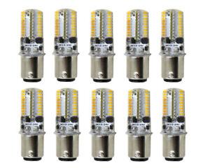 10pcs BA15D 1142 1178 LED bulb 72-3014 Car Boat Light DC12~24V 3W Silicone Lamp