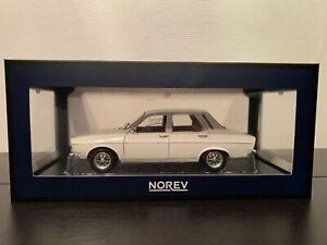 NOREV RARE 200 pcs modèle Renault 12 TS blanche