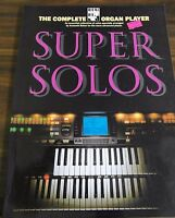 The Complete Organ Player Super Solos Music Book 1996