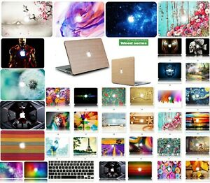 """Hard Shell Case & Rubberized Keyboard Cover for Air 13"""" White Macbook A1342-DH"""