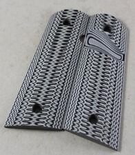 77_9003bsgb SALE 1911 BarNone 3D Super Scoop Larry Davidson Magwell G10 Grips