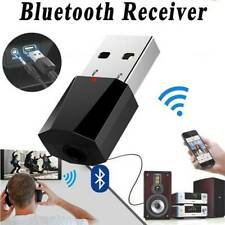 Bluetooth 5.0 Wireless USB Audio Receiver Home Car Stereo Music Aux Adapter