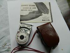 Hanimex Sekonic Model L-8b Exposure Meter in case with instructions