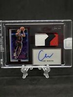 2019-20 Panini One and One - COBY WHITE - PREMIUM RPA RC Auto Red 21/25 BULLS