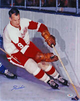 Red Wings Gordie Howe Authentic Signed 16x20 Photo Autographed PSA/DNA #T21145