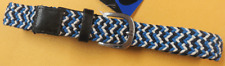 Childrens Toddler Multi Color Tweed Belt Navy, Blue White Size 4-5 Years