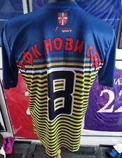 Maillot jersey trikot maglia shirt serbia srbija partizan zvezda  worn novi sad