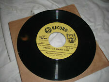 New ListingLot (13) Animal Call/Sound Lure On 45Rpm Records-Hunting-Turkeys/R abbits/Foxes/G