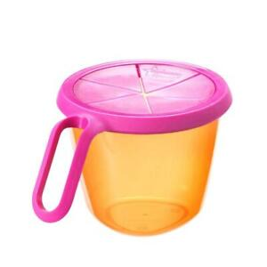 Tommee Tippee - Snack 'n' Go Active 12m+ - Orange And Pink - New Sealed Boxes