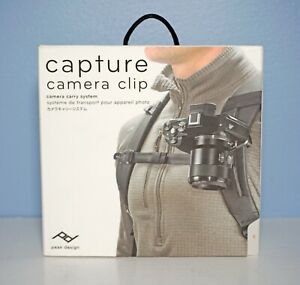 Peak Design Capture Clip v3 with Plate black - Brand New and Sealed