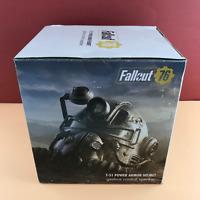 Fallout 76 - T-51 Power Armor Helmet Gesture Control Speaker Bluetooth #8483