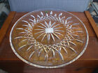 """Beautiful Waterford Crystal Lismore 12"""" Cake Plate New in Box NEW NIB"""