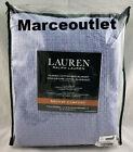 Ralph+Lauren+Bronze+Comfort+Classic+Cotton+FULL+%2F+QUEEN+Bed+Blanket+Blue